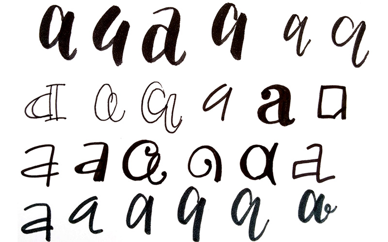 Font101 - testing out your letters