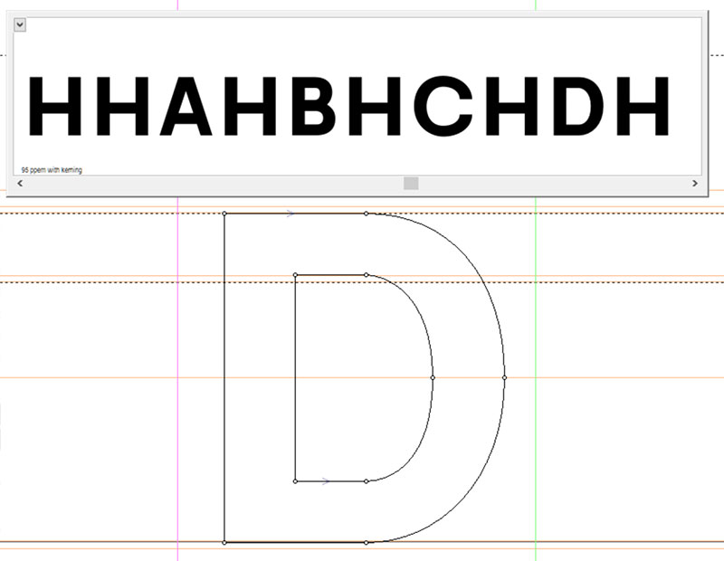 Spacing and Kerning: uppercase test strings