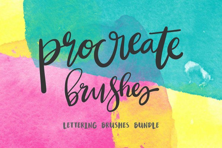 Download 10 Must Have Procreate Brushes for Hand Lettering | The ...