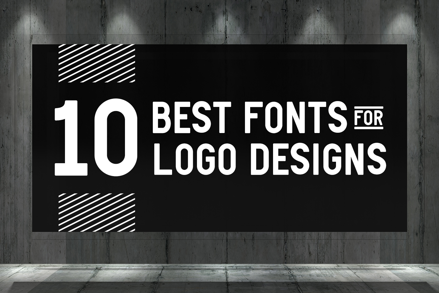 10 Best Fonts for Logo Designs