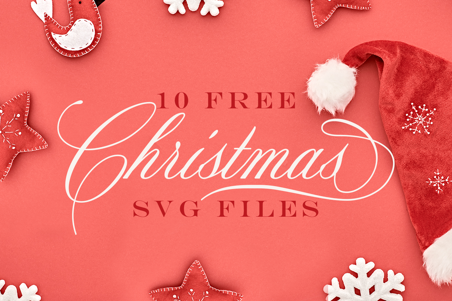 10 FREE Christmas SVG Files