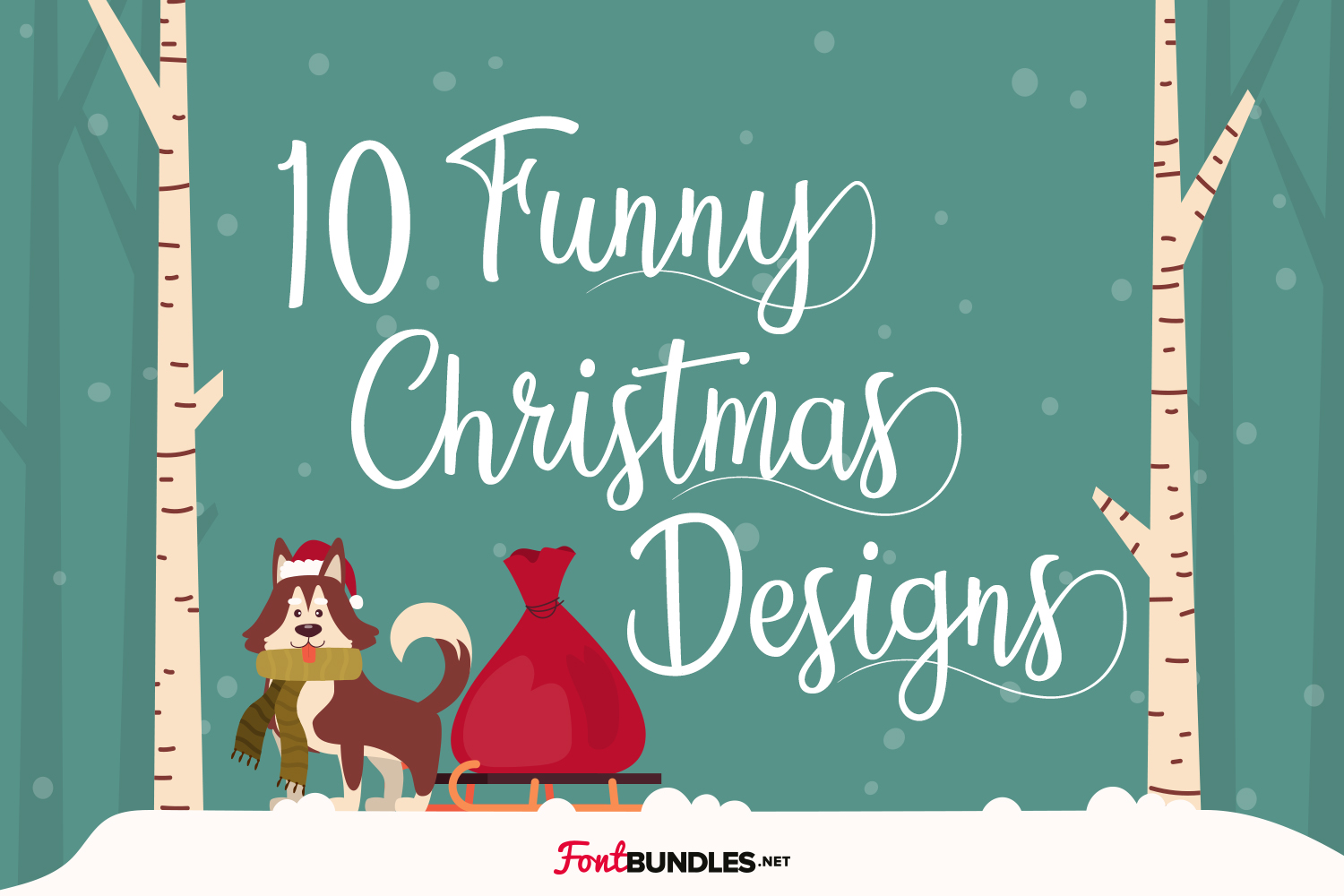10 Funny Christmas Designs