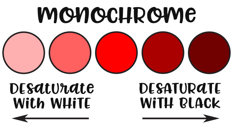 Color Theory: Monochrome Colors
