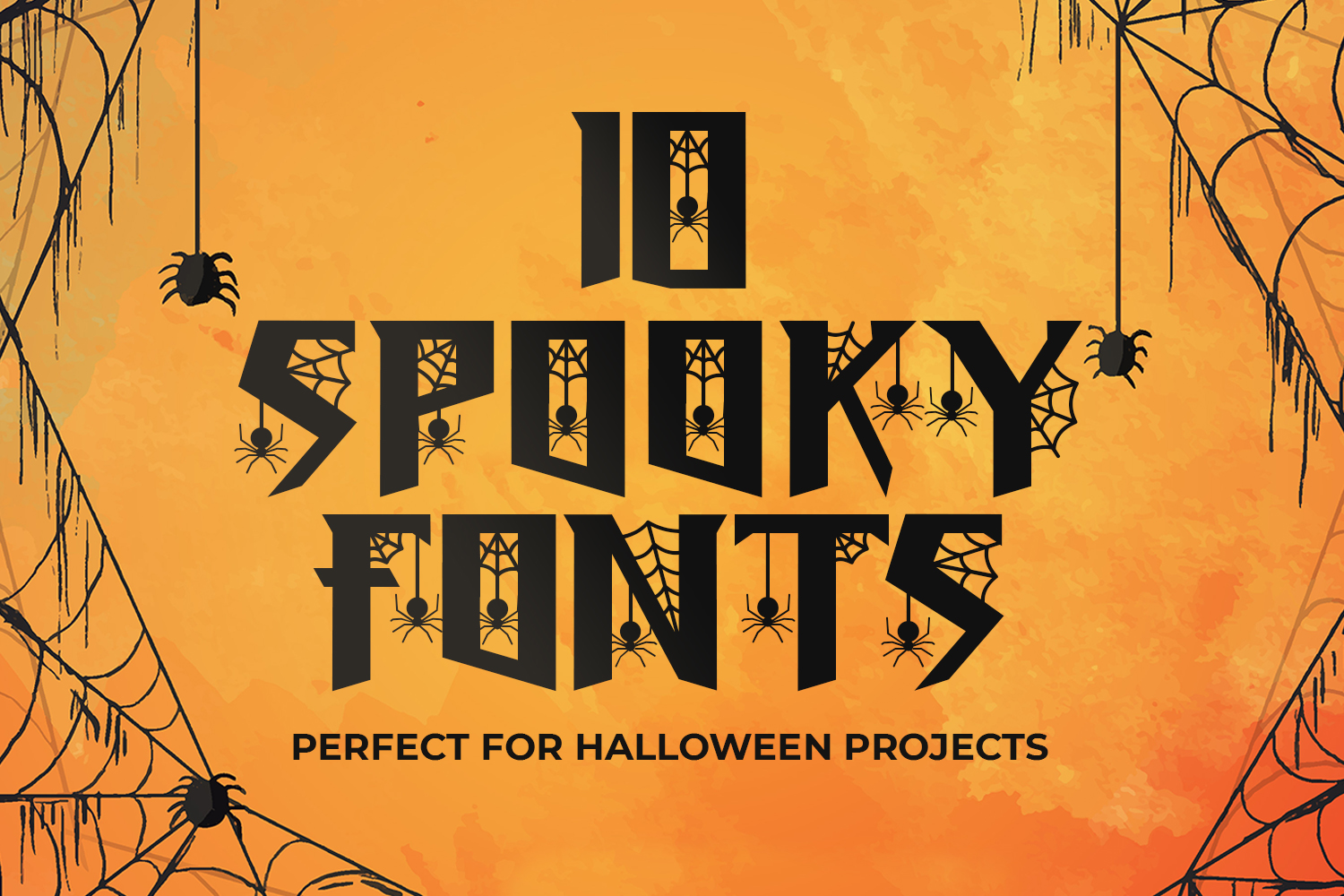 10 Spooky Fonts Perfect for Halloween Projects