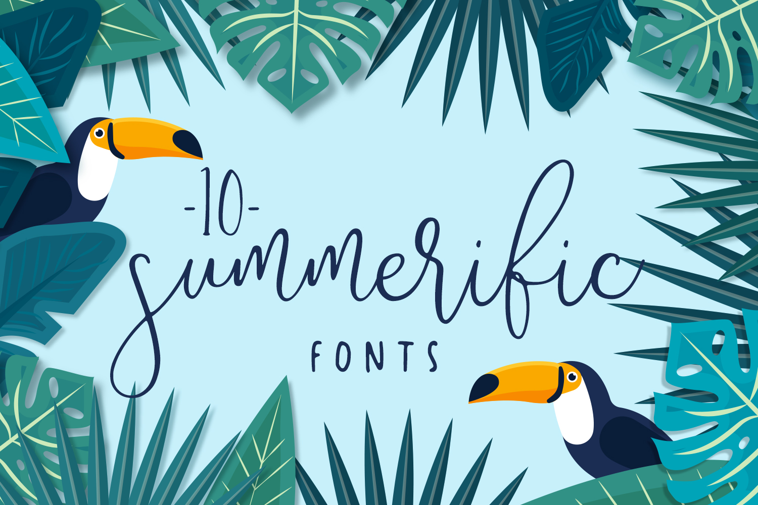 10 Summerific Fonts