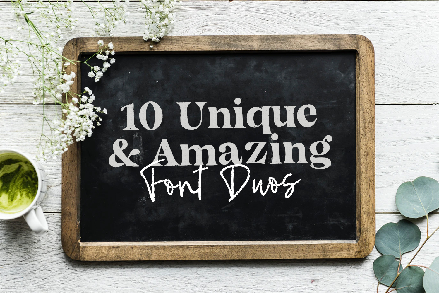 10 Unique and Amazing Font Duos