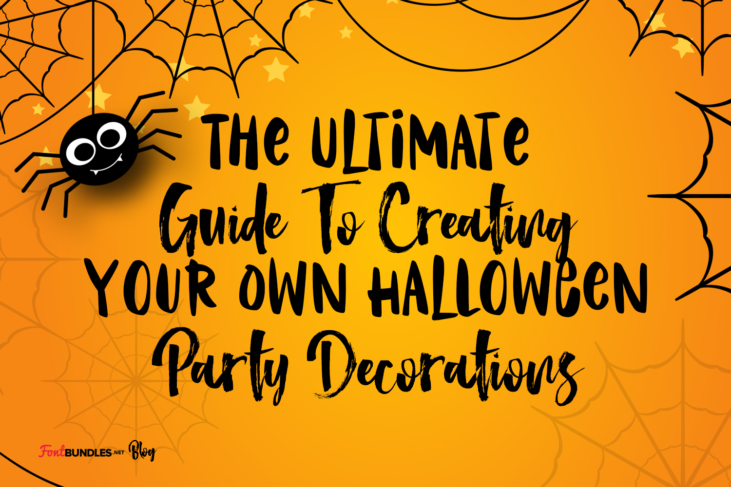 The Ultimate Guide To Creating Your Own Halloween Party Decorations