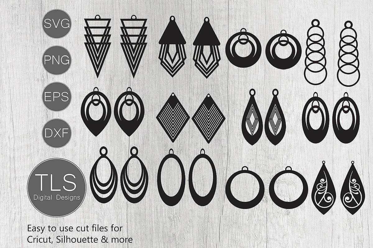 Download 10 Earring Svg Designs For Gorgeous Gifts The Font Bundles Blog