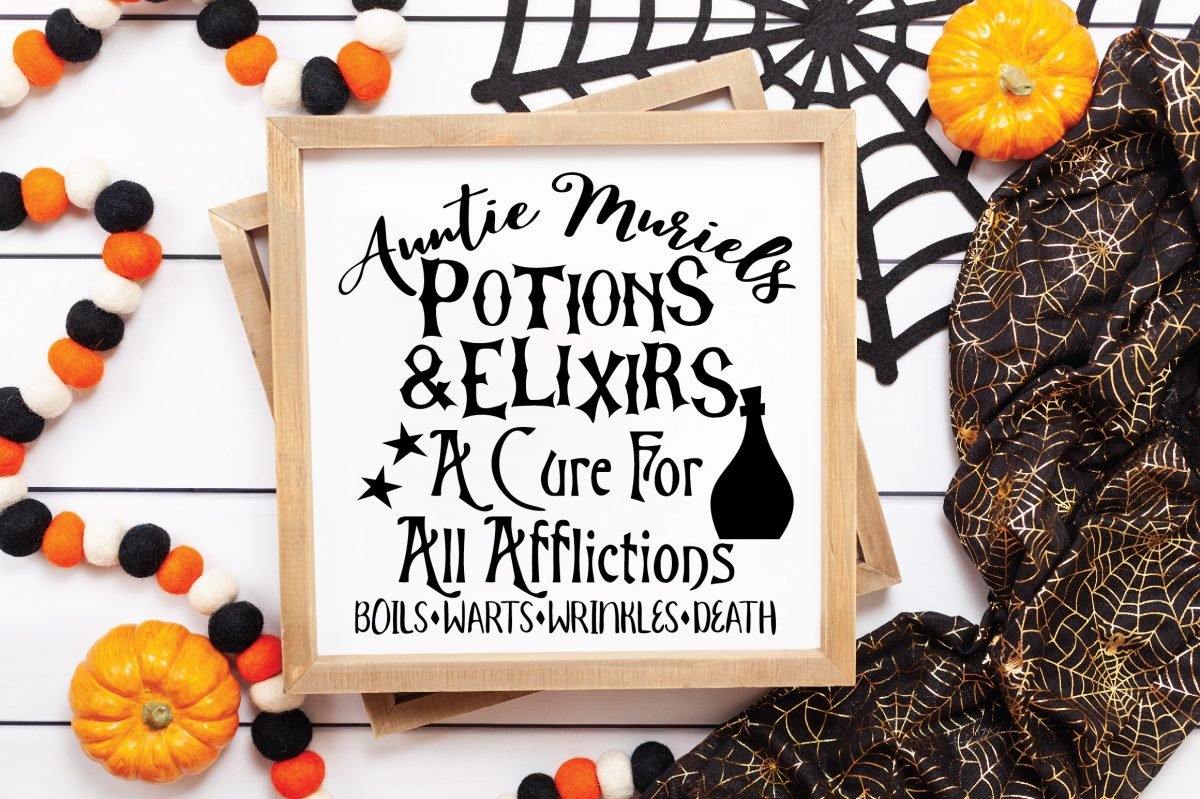 Potions Sign