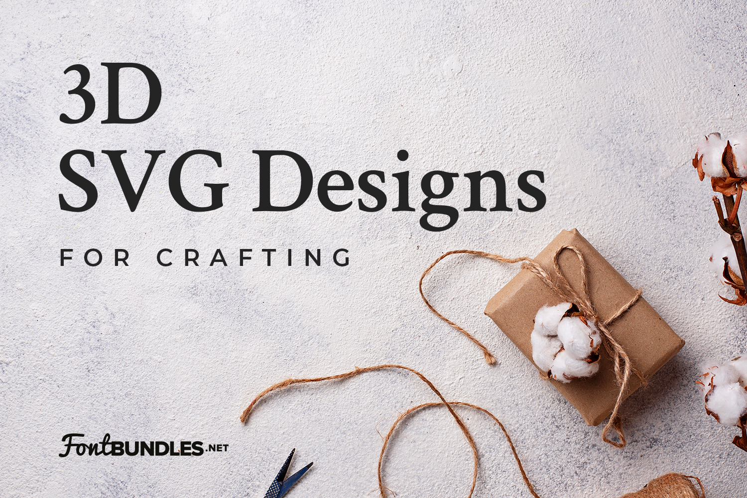 3D SVG Designs for Crafting