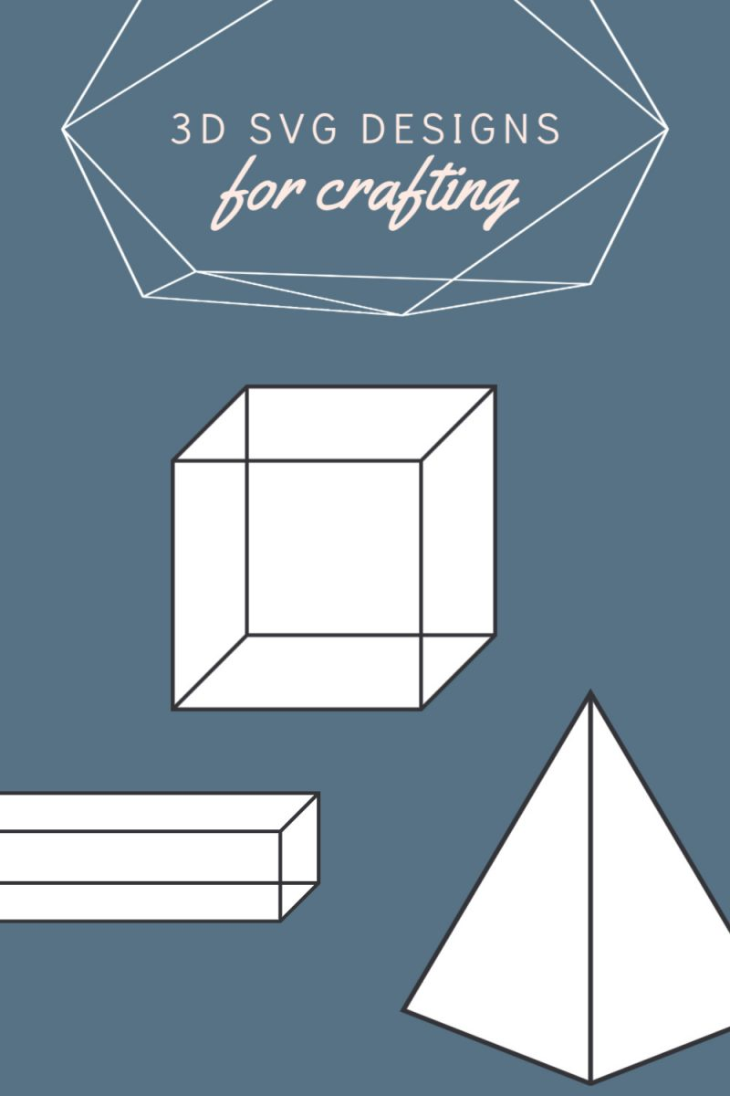 3D SVG designs for crafting, bows, earrings, decorative boxes