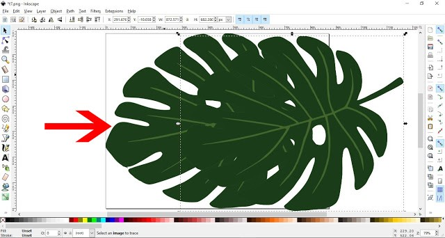 How to convert a JPEG/PNG to a Vector in Inkscape 7