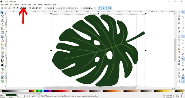How to convert a JPEG/PNG to a Vector in Inkscape 8