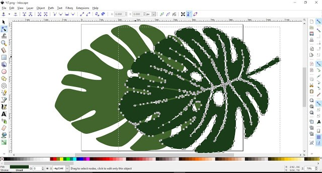 How to convert a JPEG/PNG to a Vector in Inkscape 9
