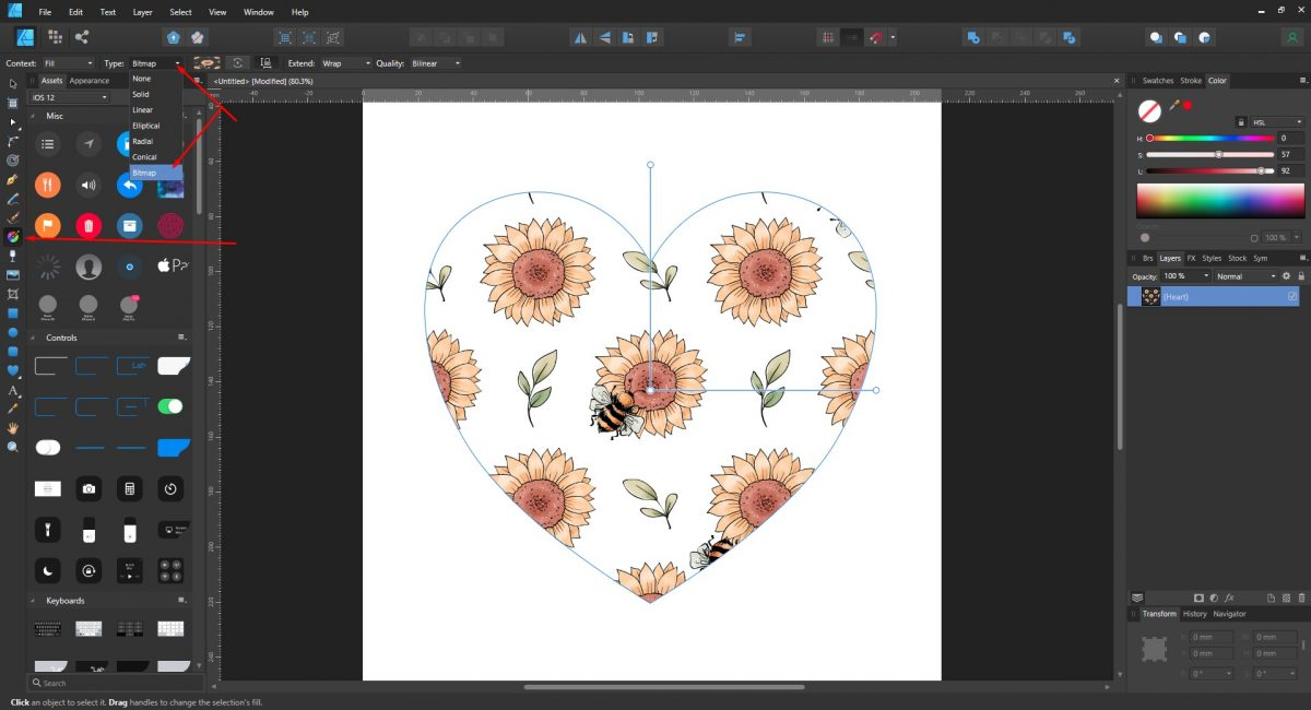 Fill Tool Bitmap Affinity