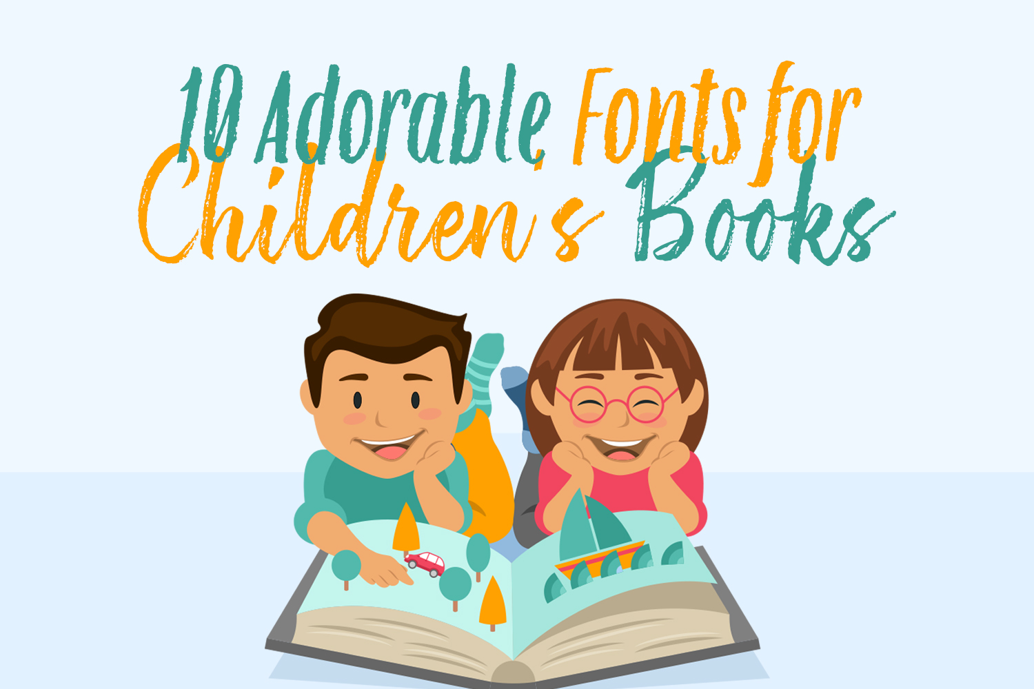 10 Adorable Fonts for Children's books