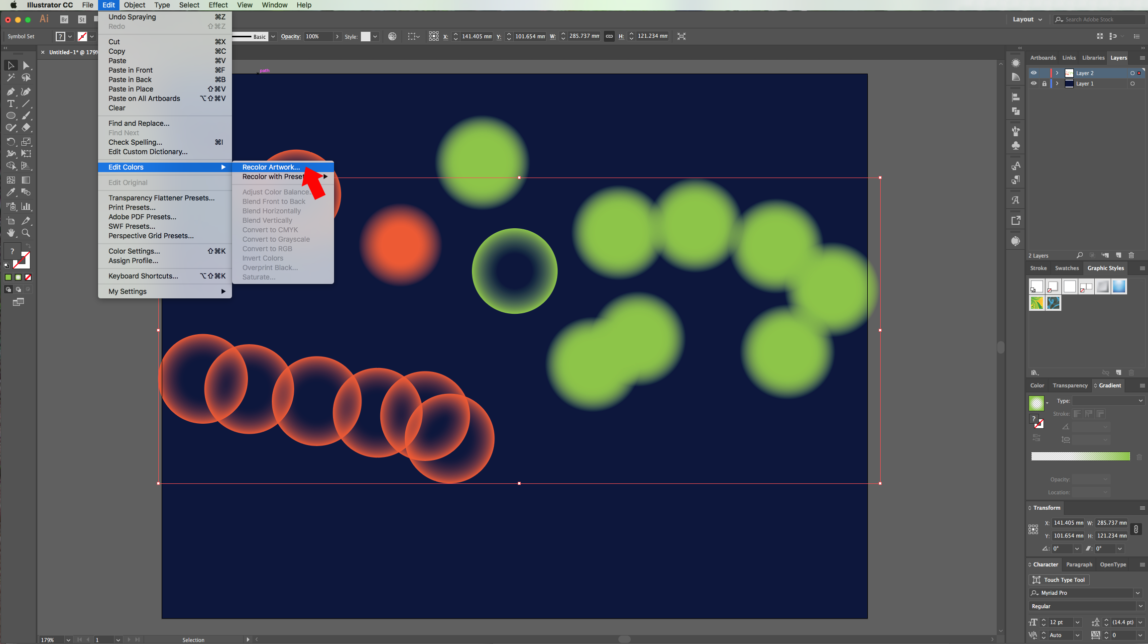 Bokeh effect in illustrator design bundles 10 to create a bokeh effect with your symbols just select the one you want to use and spray it around deselect your set select the symbol sprayer biocorpaavc