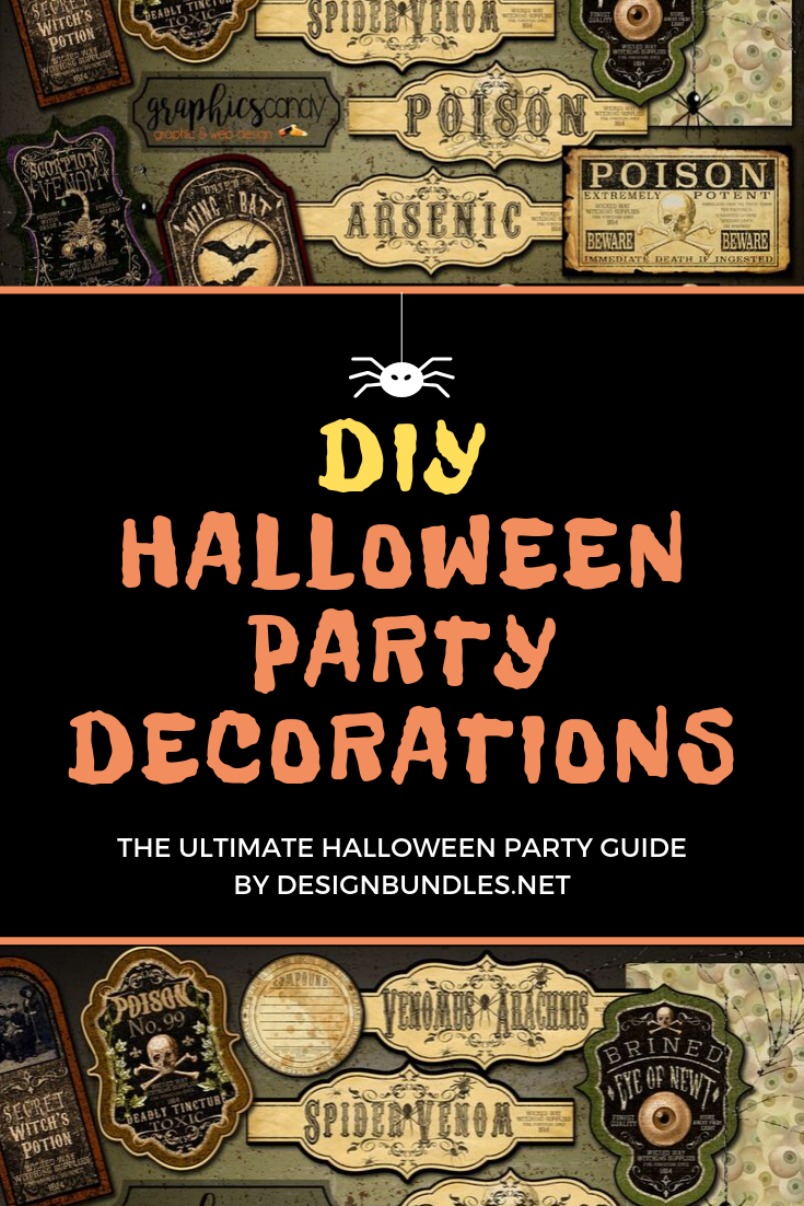 DIY halloween party decorations - the ultimate guide