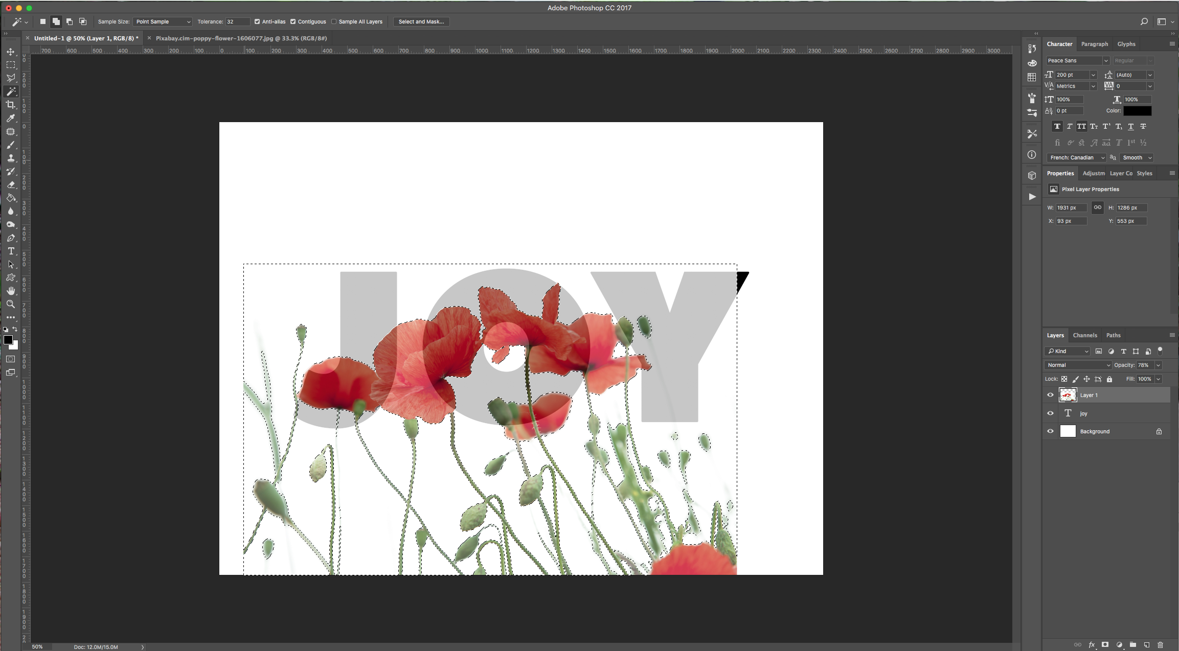 how to get rid of text in an image photoshop