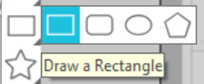Drawing Tools Rectangle