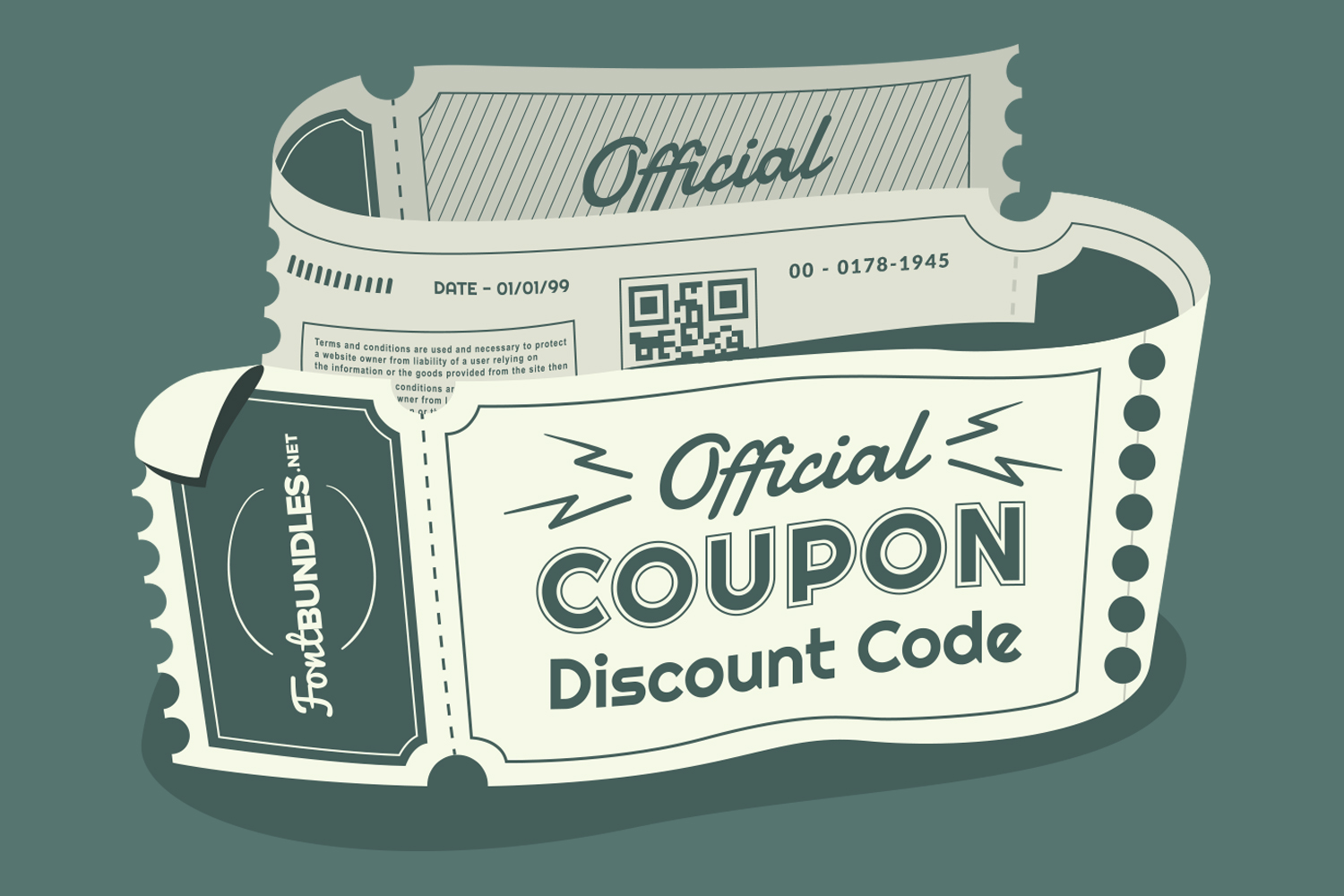 Font Bundles Official Coupon/Discount Code