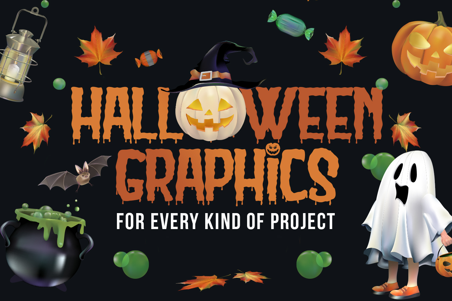 Halloween Graphics for Every Kind of Project