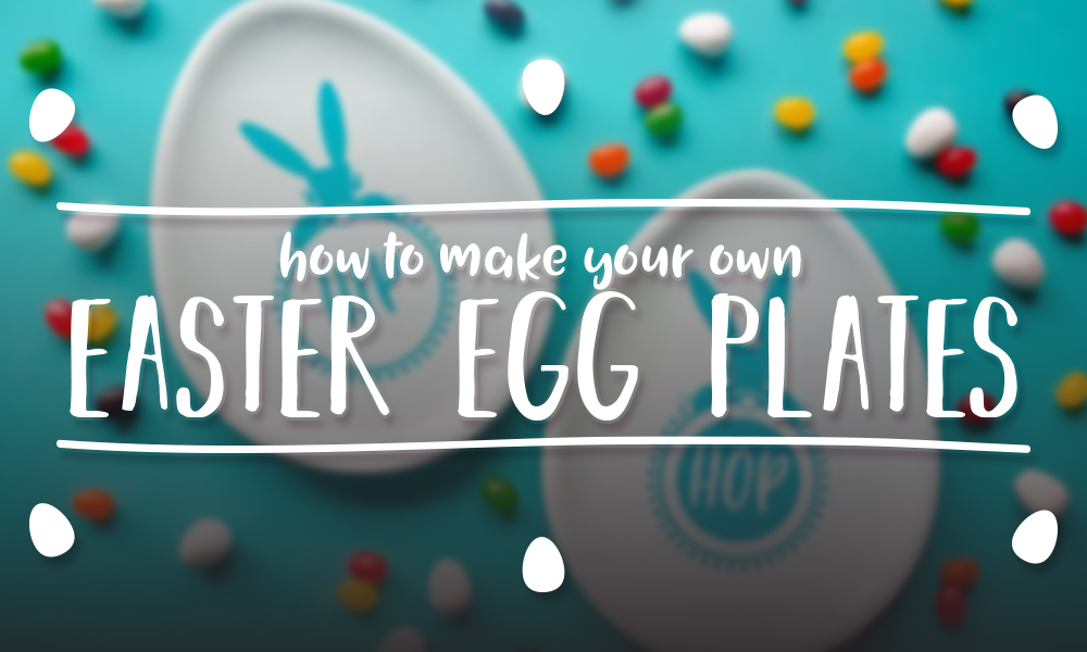 How to Make Your Own Easter Egg Plates