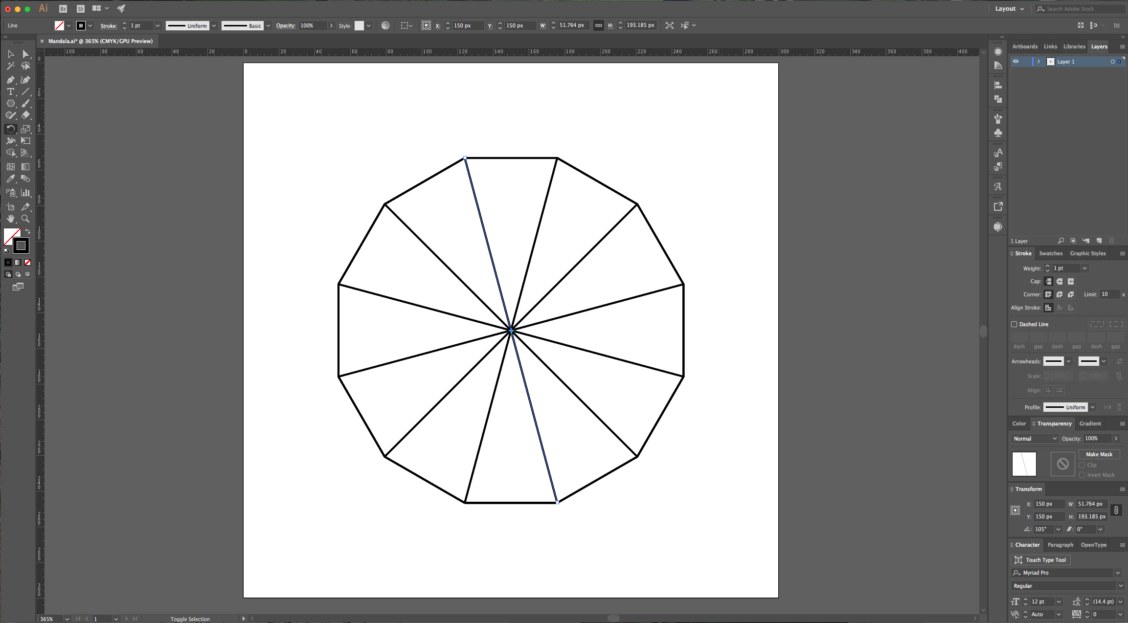 how to draw a line in illustrator