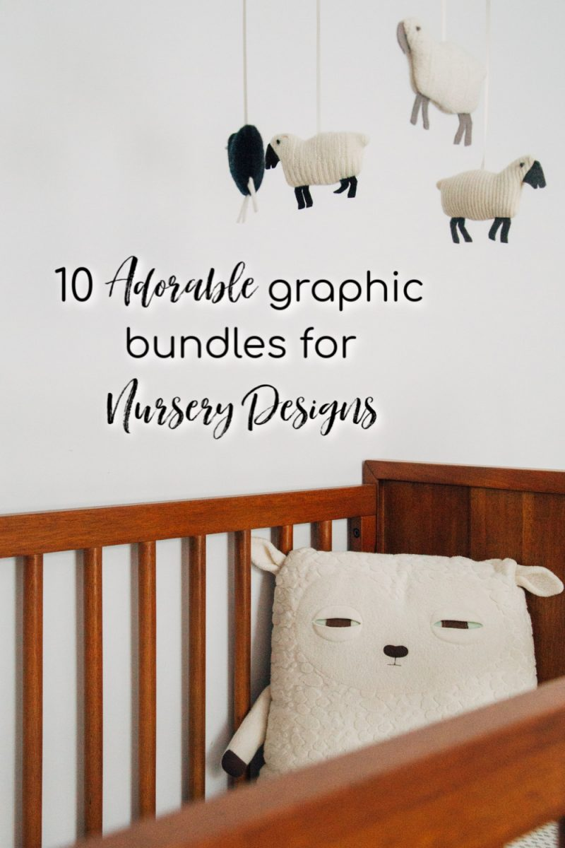 10 adorable graphics for nursery designs. Custom baby room designs
