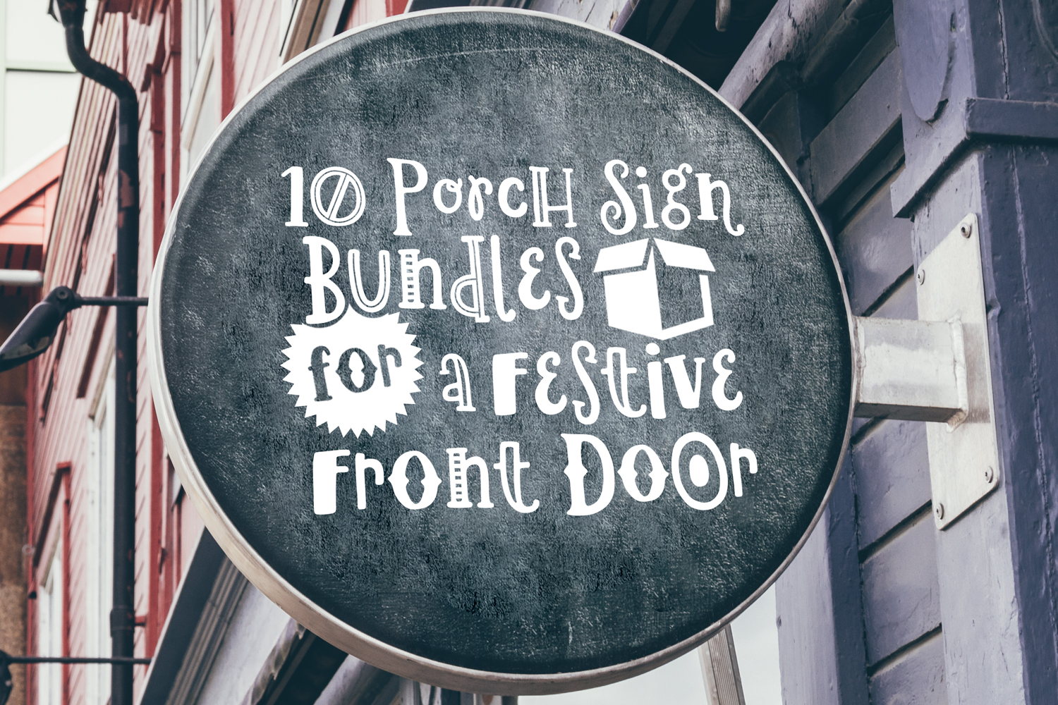 10 Porch Sign Bundles for a Festive Front Door