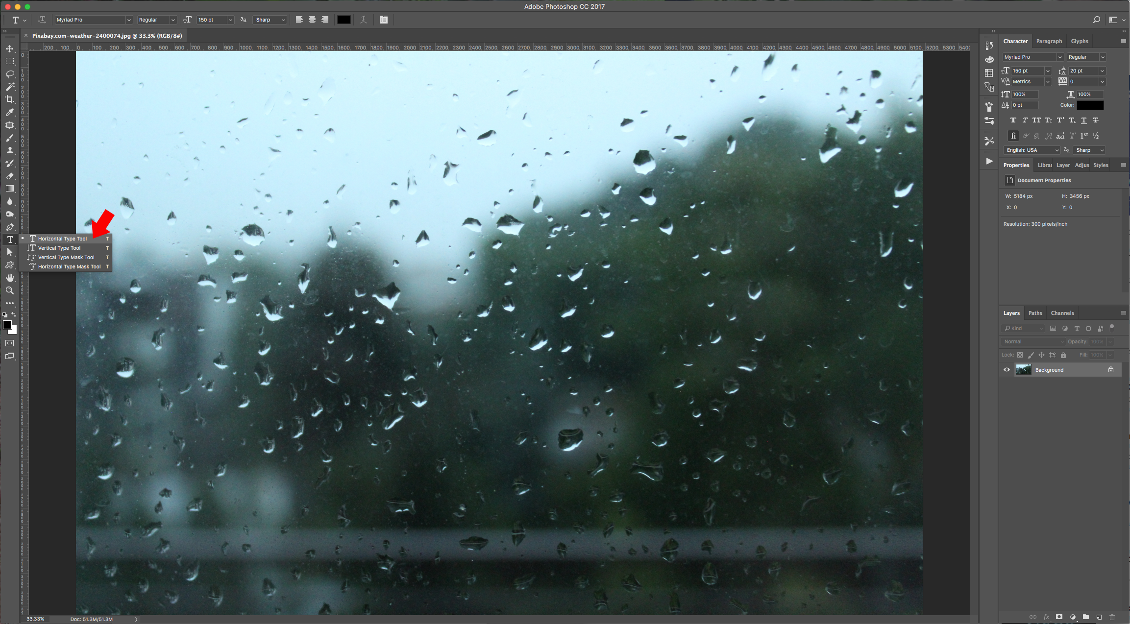 how to make a window in photoshop