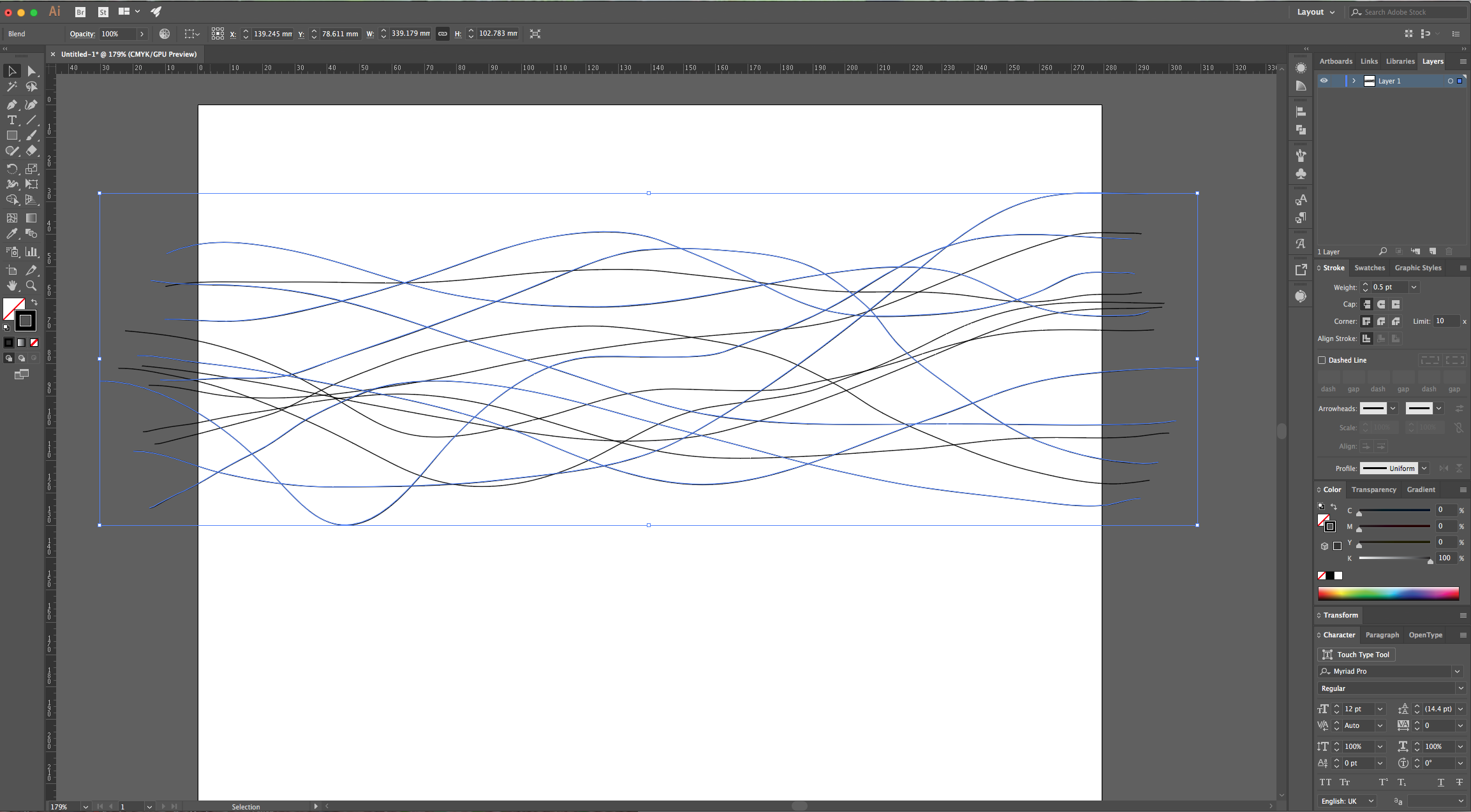how to make waves in illustrator