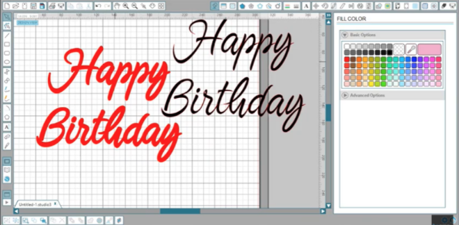 How To Change The Thickness Of A Font In Silhouette Design Studio
