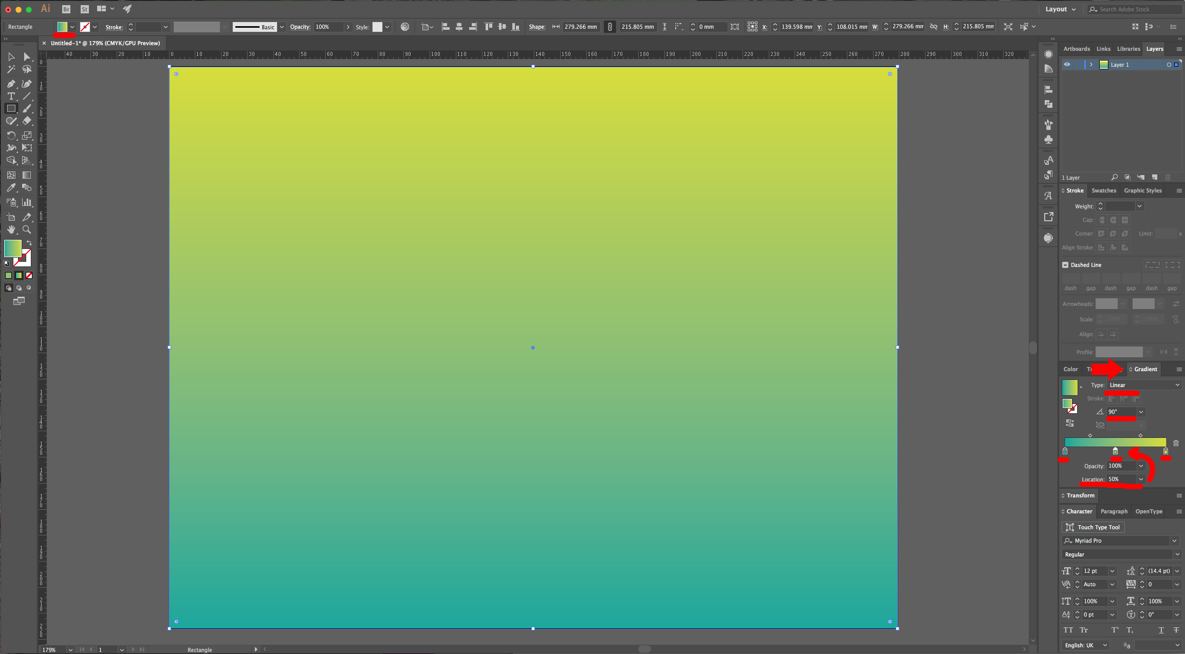 how to change background colour in illustrator
