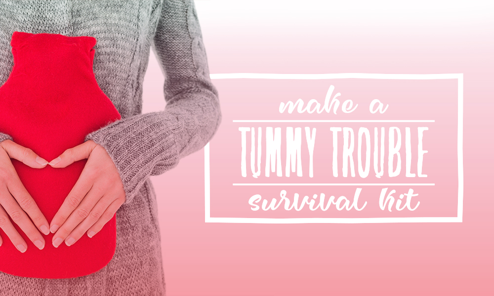 Make a Tummy Trouble Survival Kit