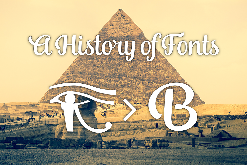 history of fonts