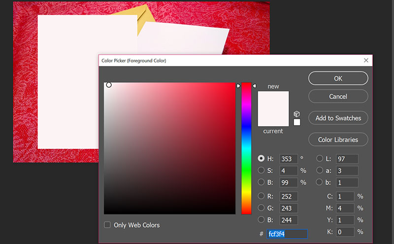 Mockups: coloring guide rectangle