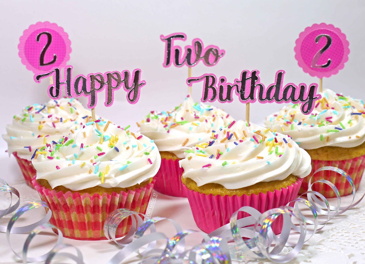 Making Cute Birthday Cupcake Toppers The Font Bundles Blog