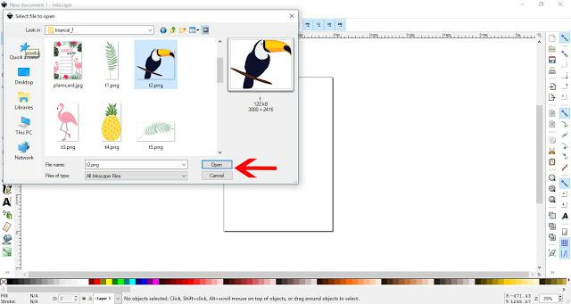 How to Convert a JPEG to SVG in Inkscape | Design Bundles