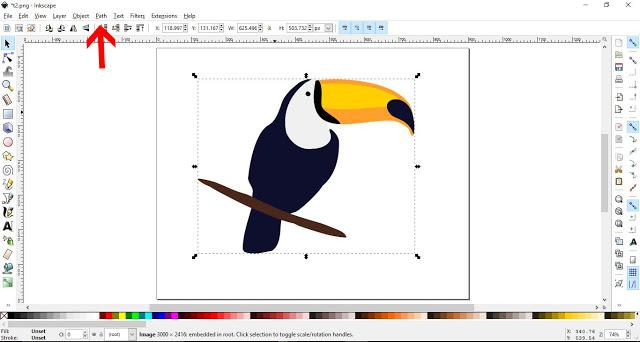 How to Convert a JPEG to SVG in Inkscape | Design Bundles