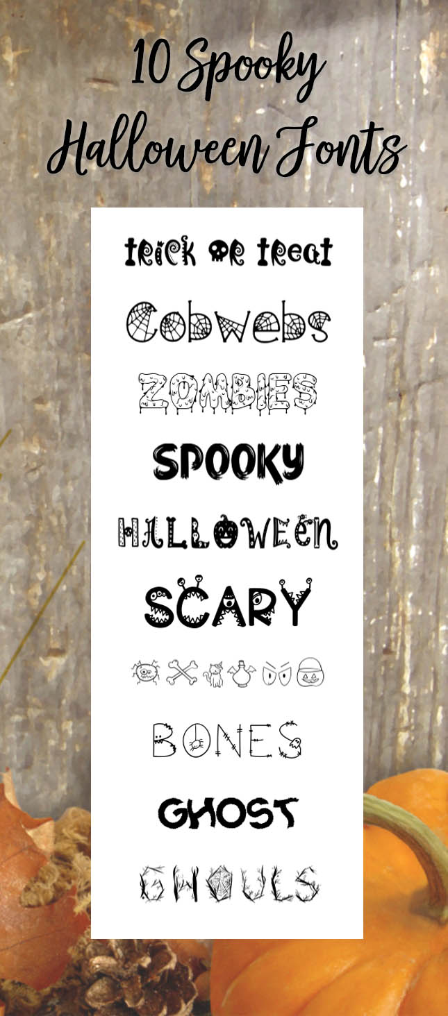 10 Spooky Fonts Perfect for Halloween Projects | The Font