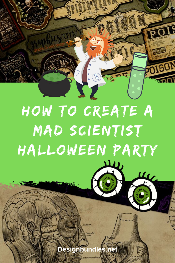 how To Create a mad scientist Halloween Party