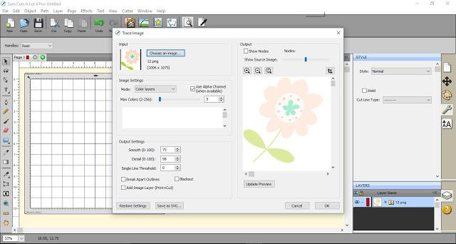 Editing 'Color layers' in SCAL4