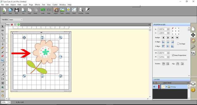 Making separate image layers in SCAL4