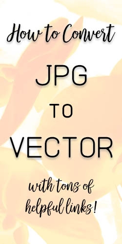 How to convert a JPG graphic to a Vector Graphic