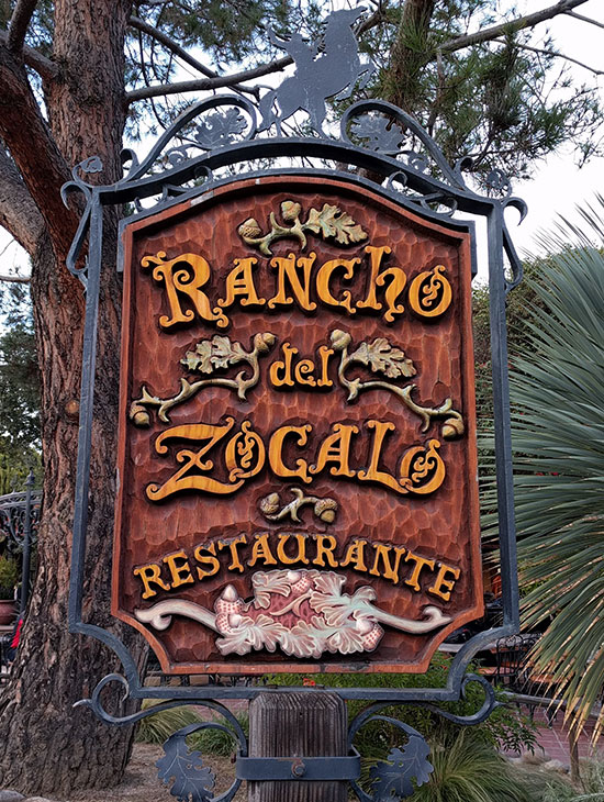 Type of Disneyland: Rancho del Zocalo