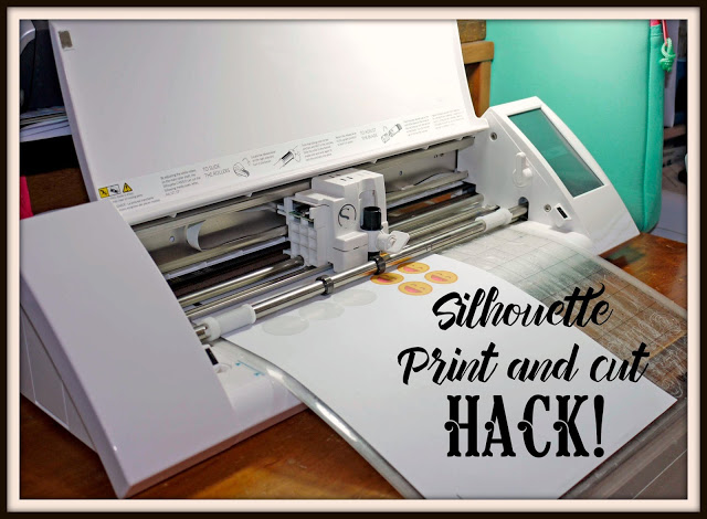 Print and Cut Hack for Silhouette.